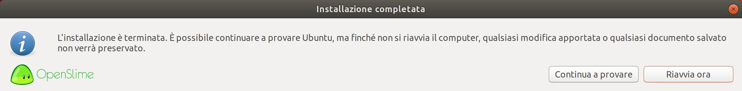 installer-9 - Recensione Ubuntu 18.04.1 LTS Bionic Beaver