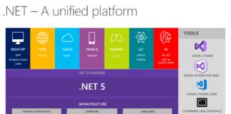 La struttura di .NET 5