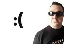 Martin Wimpress guarda l'orizzonte, con vicino a lui una faccina triste :(
